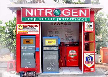Isi angin ban nitrogen